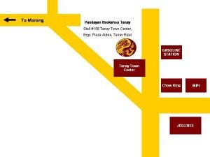 Pandayan Tanay Map