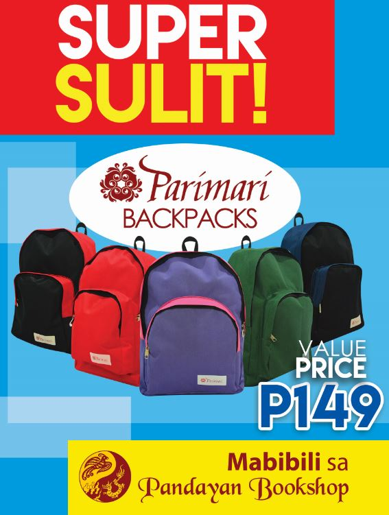 Super Sulit! Parimari Backpacks