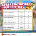 Sorpresa Savings