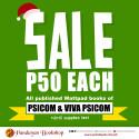 sale P50 each psicom and viva psicom wattpad books