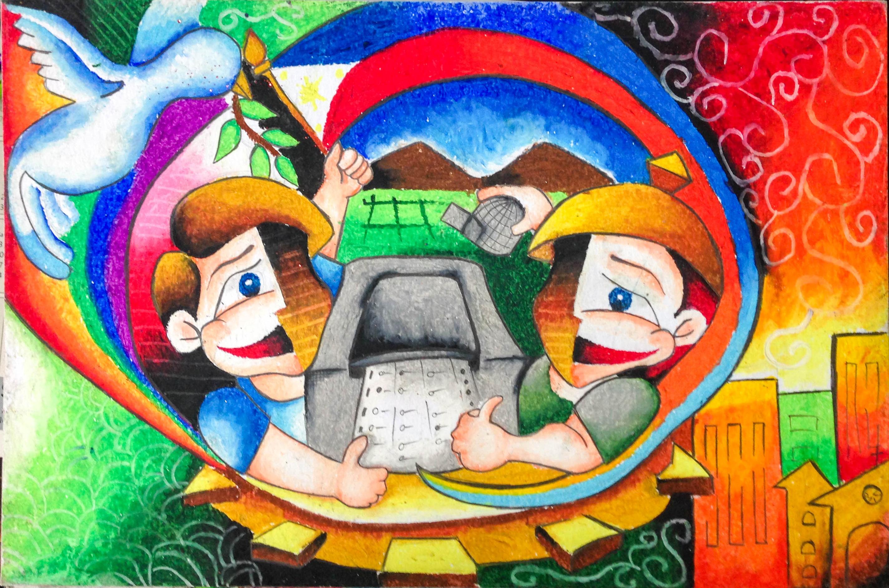 Poster design contest 2016 - 03 104 John Michael R Inocencio Grade 6 Humility