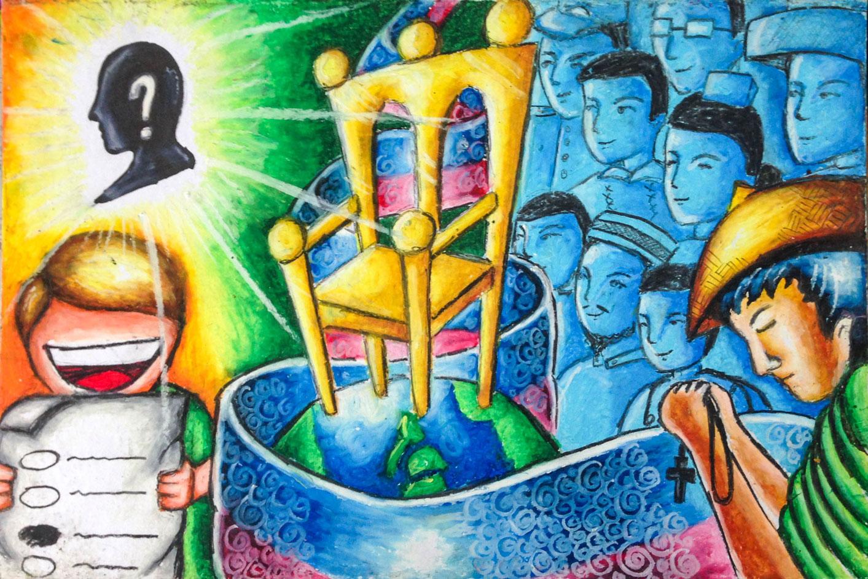 Poster design contest 2016 - 3rd Place Paulo G Guevarra Grade 8 A Pasig High School