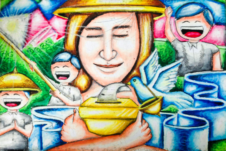 on the spot poster making contest Tarlac city -- for the second consecutive year, maliwalo high school topped the consumer welfare month provincial on-the-spot poster making contest of department of trade and industry in tarlac grade 10 student jesus angelo yabut bested 21 other junior high school students and took home a certificate of recognition, trophy, and.
