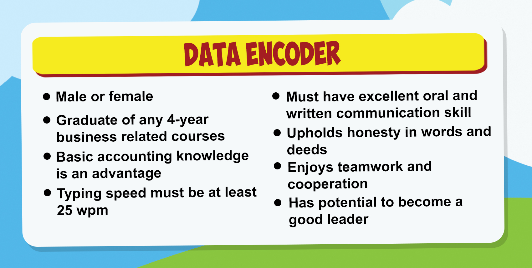 what is the meaning of data encoder sle