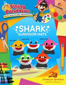 Shark Sunvisor Hats