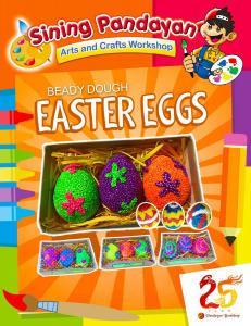 Beady Dough Easter Eggs