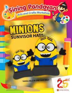 Minions Sunvisor Hat