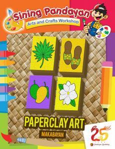 Paper Clay Art (Sagisag ng Pilipinas)