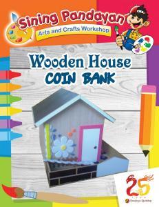 Wooden House Coinbank